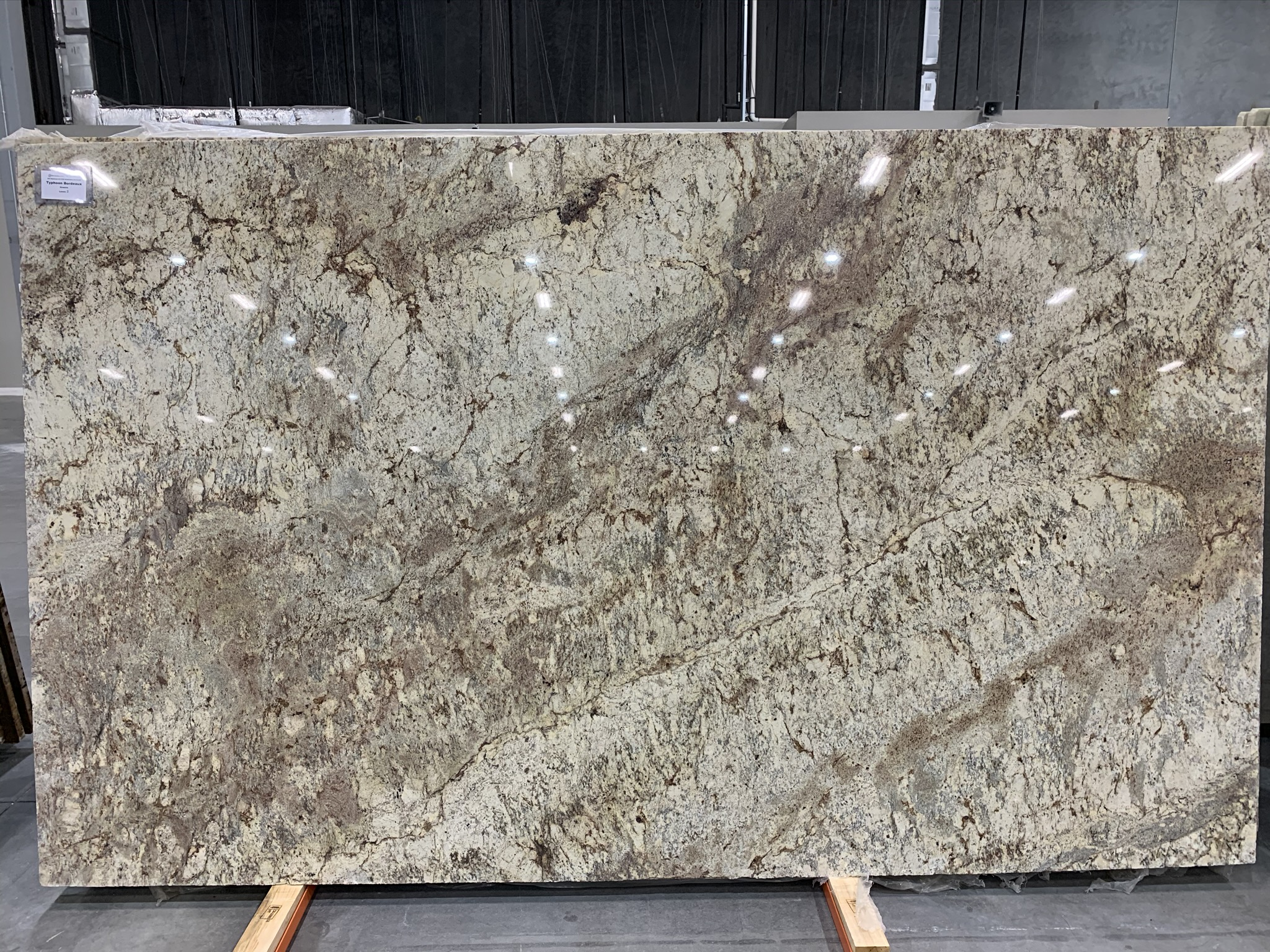 Granite, Marble & Quartz - Typhoon Bordeaux