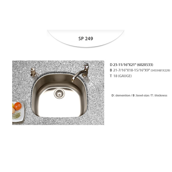 Stainless Sinks - SP249