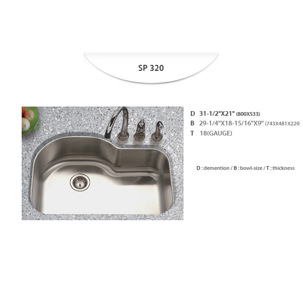 Stainless Sinks - SP320