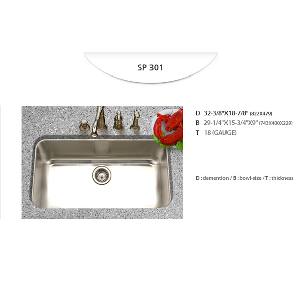 Stainless Sinks - SP301