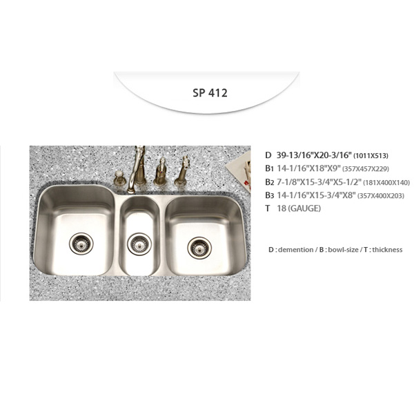 Stainless Sinks - SP412