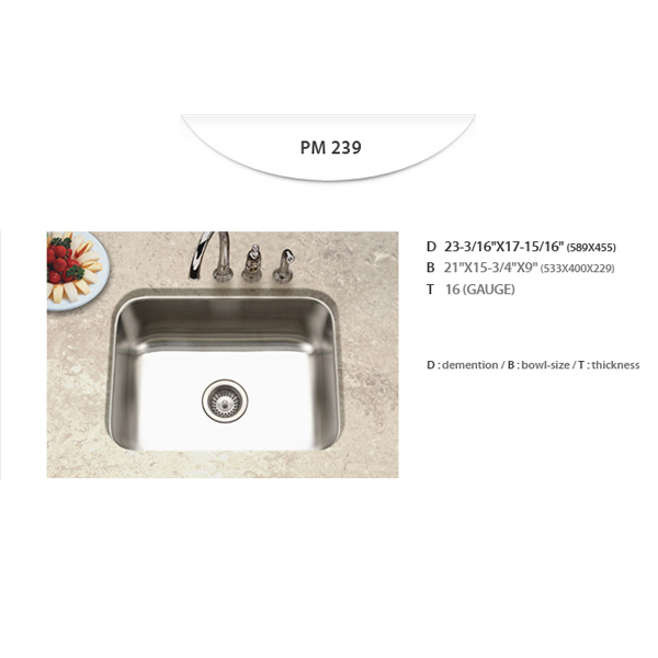 Stainless Sinks - PM239