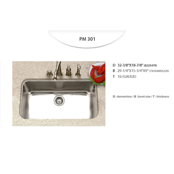 Stainless Sinks - PM301