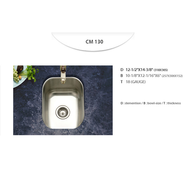 Stainless Sinks - CM130