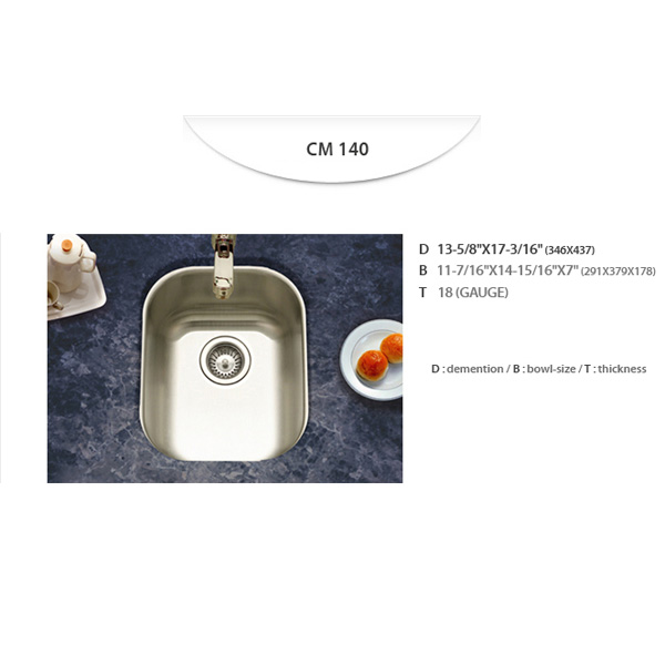 Stainless Sinks - CM140