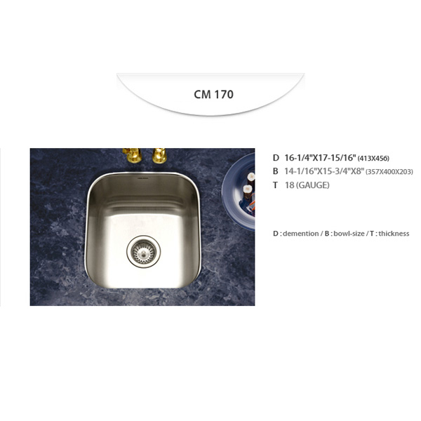Stainless Sinks - CM170